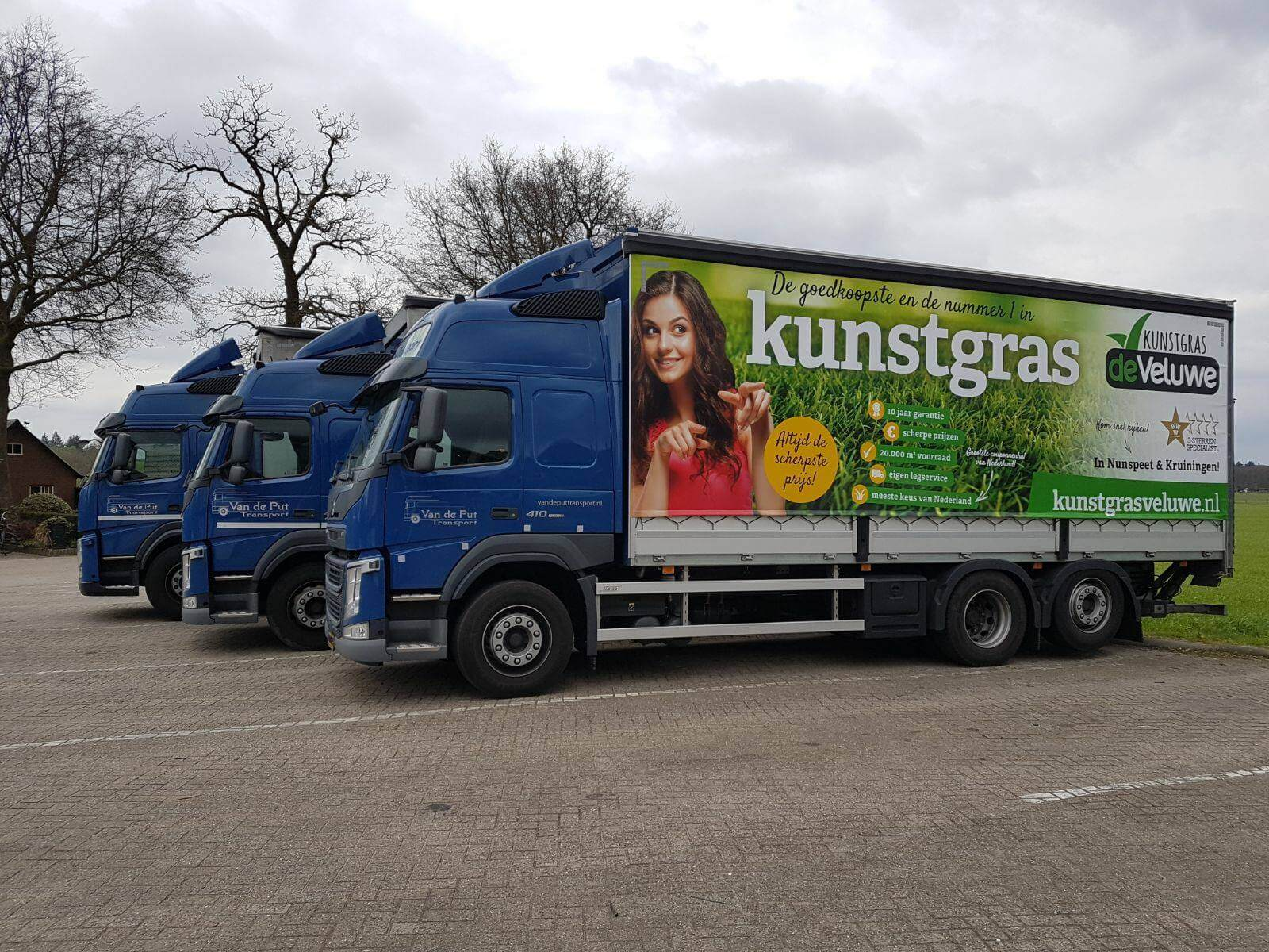 Van de Put Transport - Partner in Logistiek Kunst de Veluwe